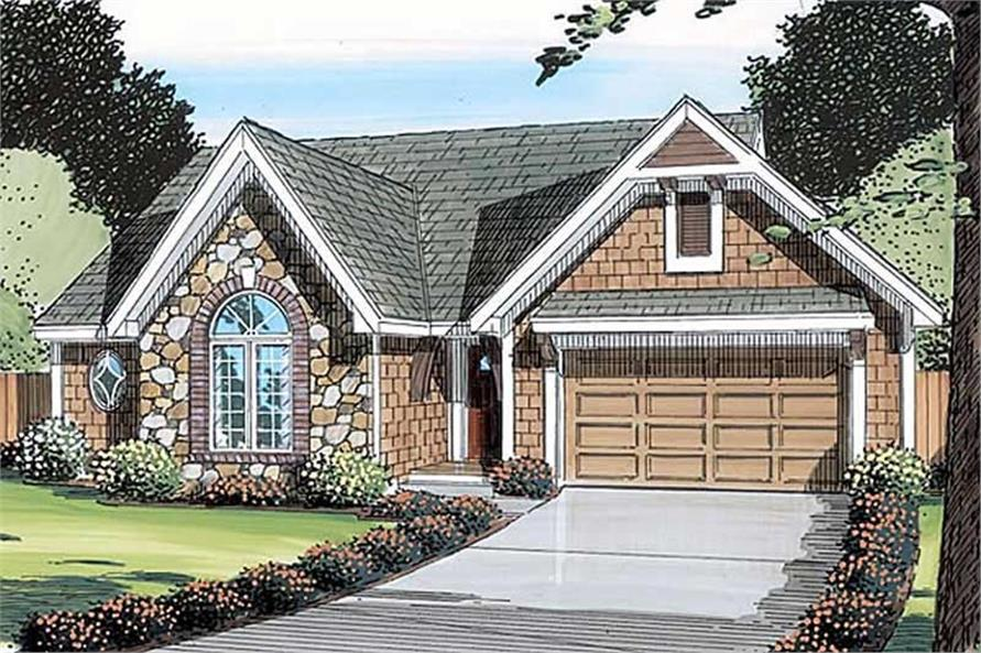 Main image for house plan # 19844