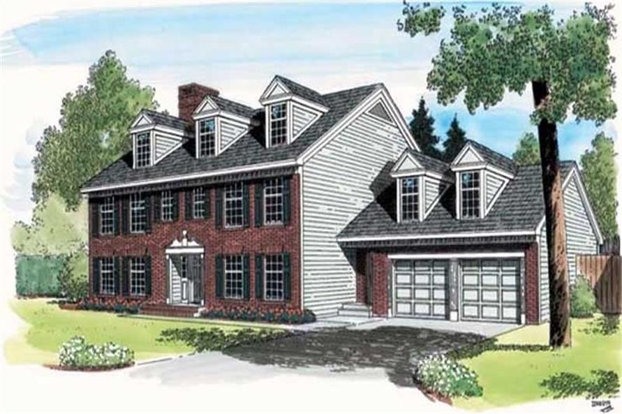 Main image for house plan # 19842