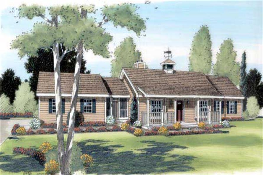 Main image for house plan # 20068