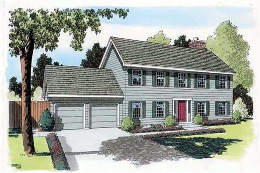 Main image for house plan # 20168