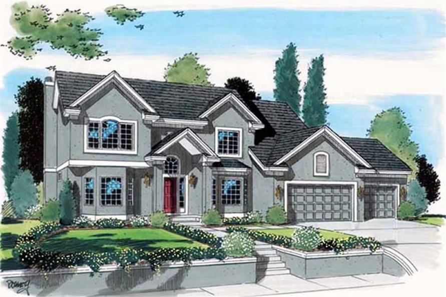 Main image for house plan # 20009