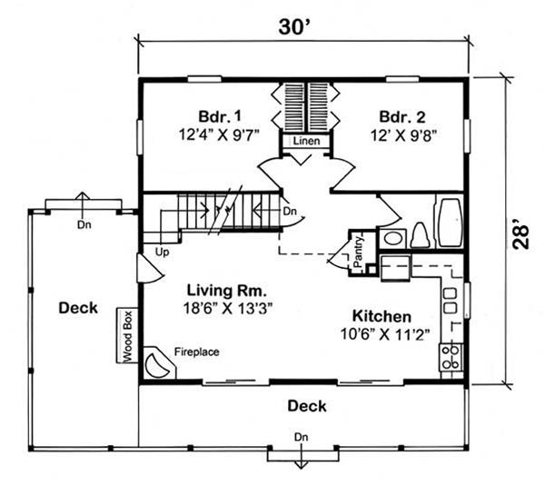 cabin house plan