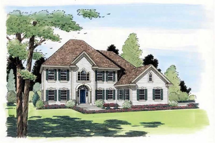 Main image for house plan # 19998