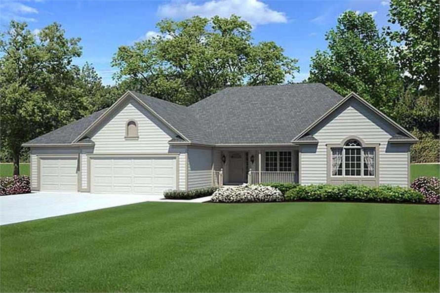 Main image for house plan # 19843