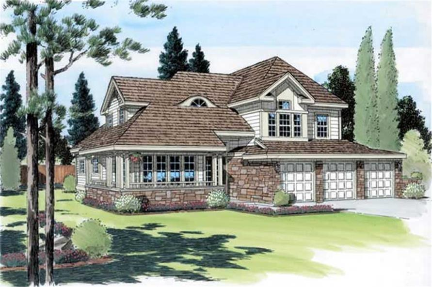 Main image for house plan # 19931