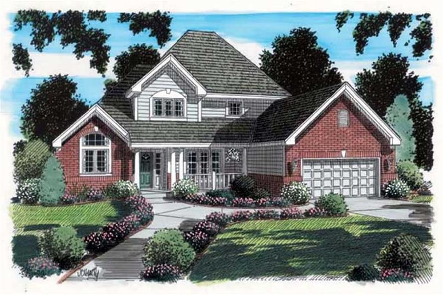 Main image for house plan # 19902