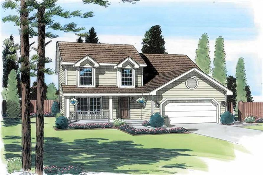 Main image for house plan # 19950