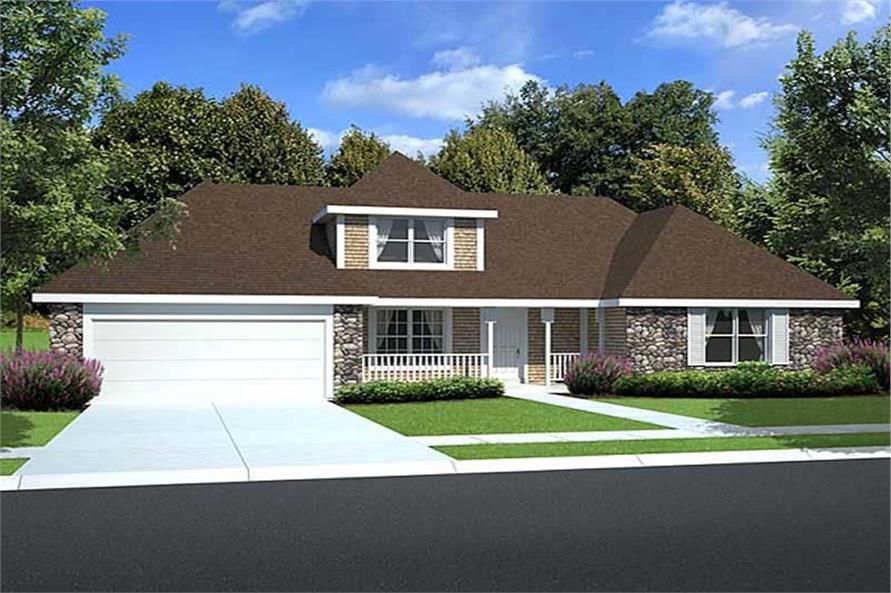 Main image for house plan # 20153