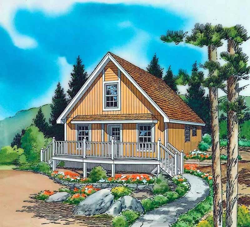 Vacation Homes, Country House Plans