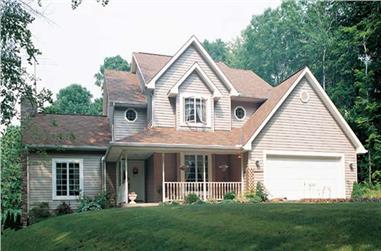 3-Bedroom, 2525 Sq Ft Farmhouse Home Plan - 131-1078 - Main Exterior