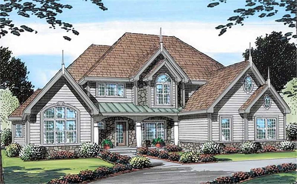 Main image for house plan # 20133