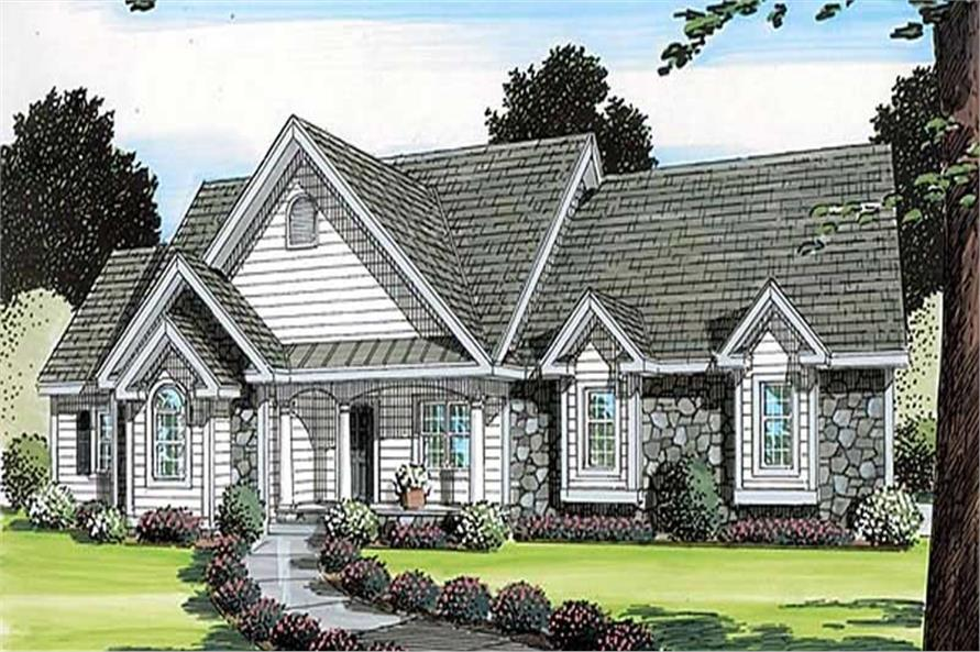 Main image for house plan # 20096
