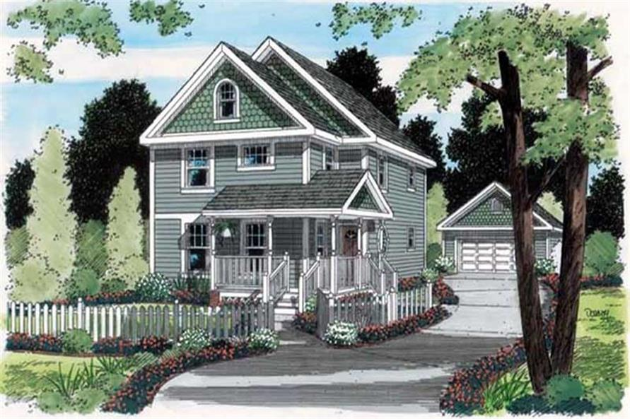 Main image for house plan # 20083