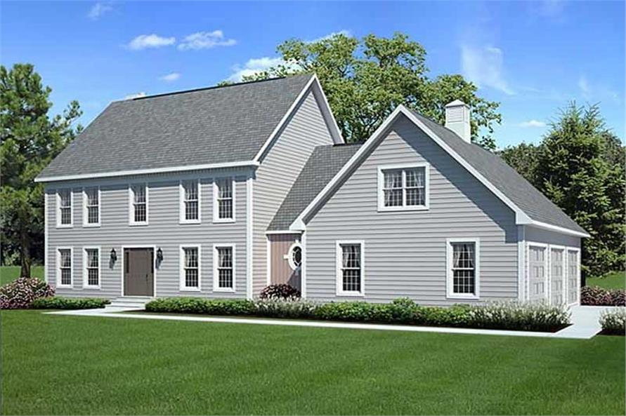 Main image for house plan # 20130