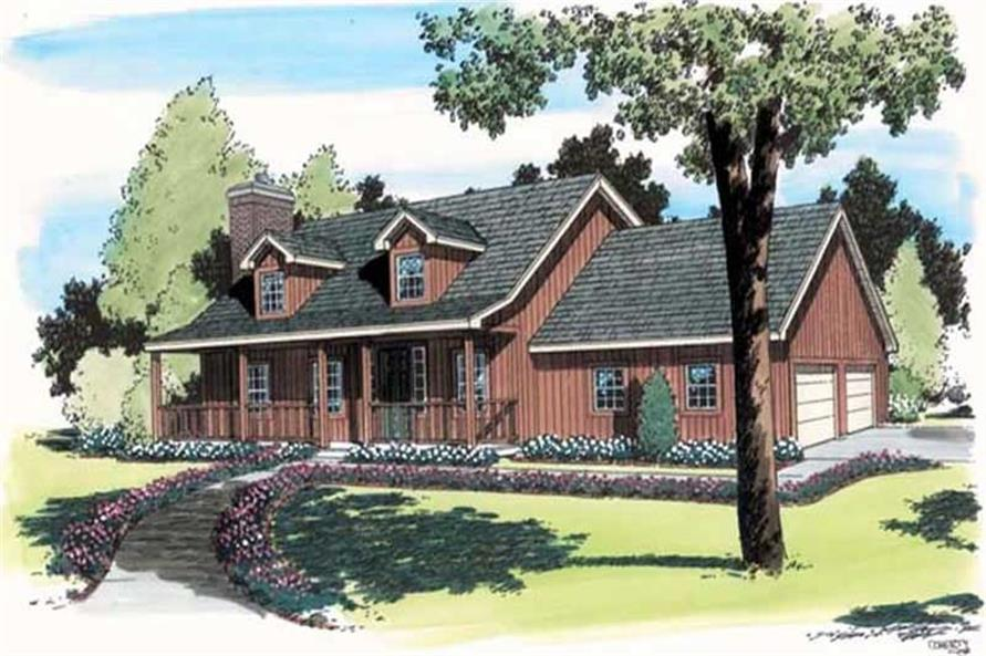 Main image for house plan # 20169