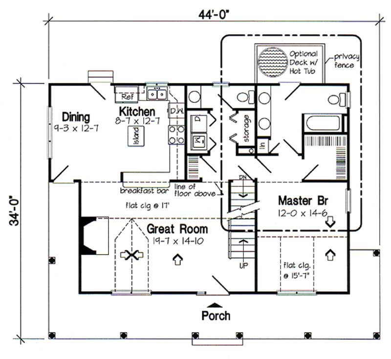 Country cape cod house plans home design gar 34602 20165 for Country cape cod house plans