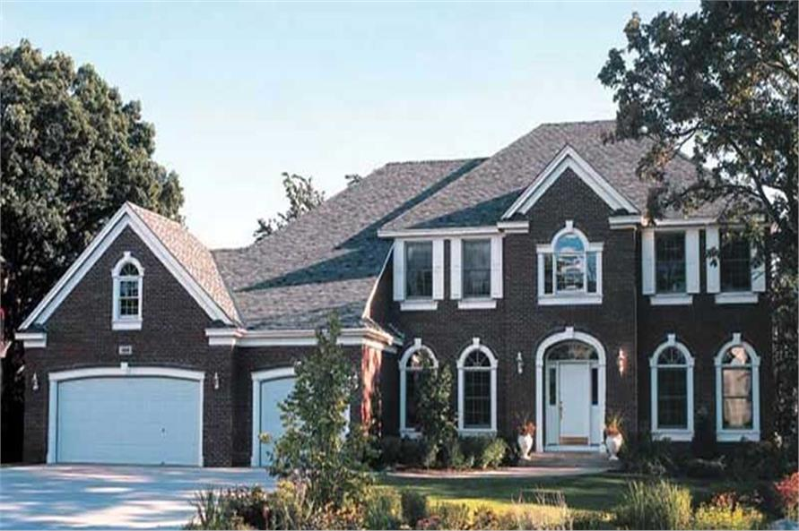 Main image for house plan # 20108