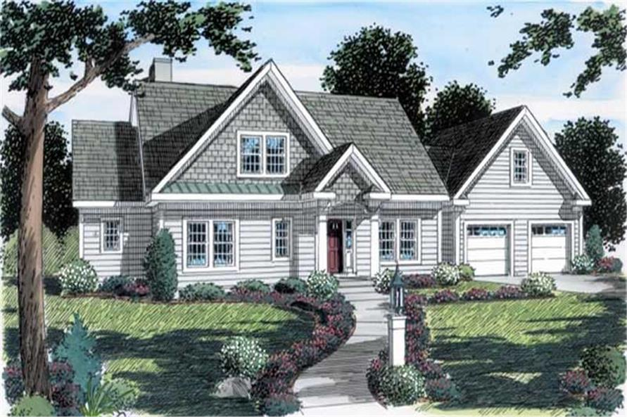Main image for house plan # 20137