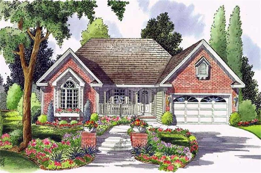 Main image for house plan # 20072