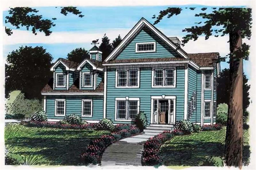 Main image for house plan # 20128