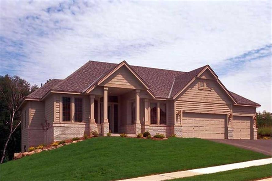 Main image for house plan # 20118
