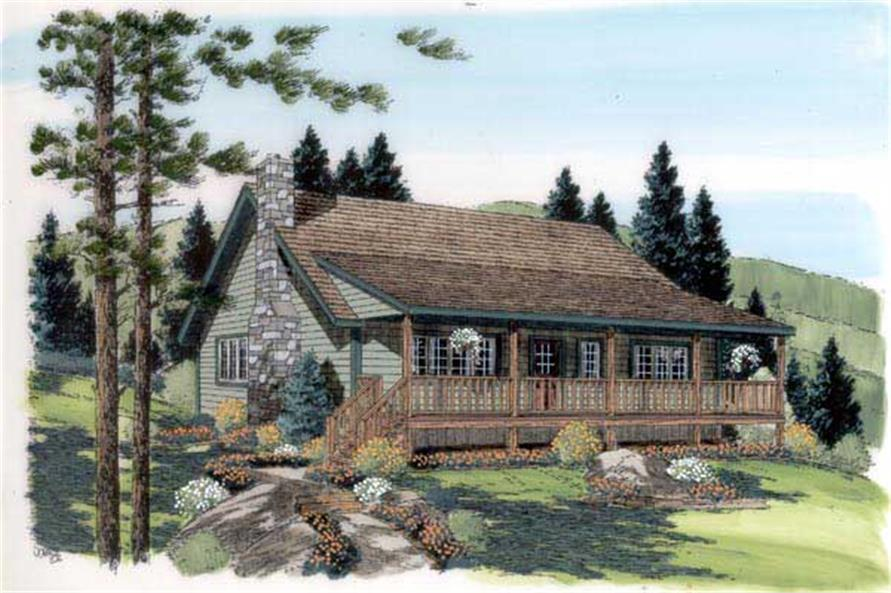 Main image for house plan # 20163