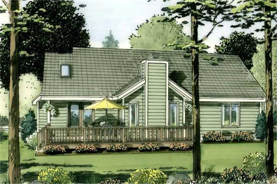 Home Plan Rendering of this 1-Bedroom,1686 Sq Ft Plan -1686