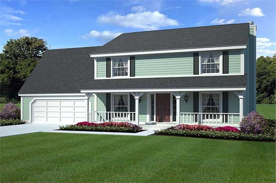 Main image for house plan # 20148