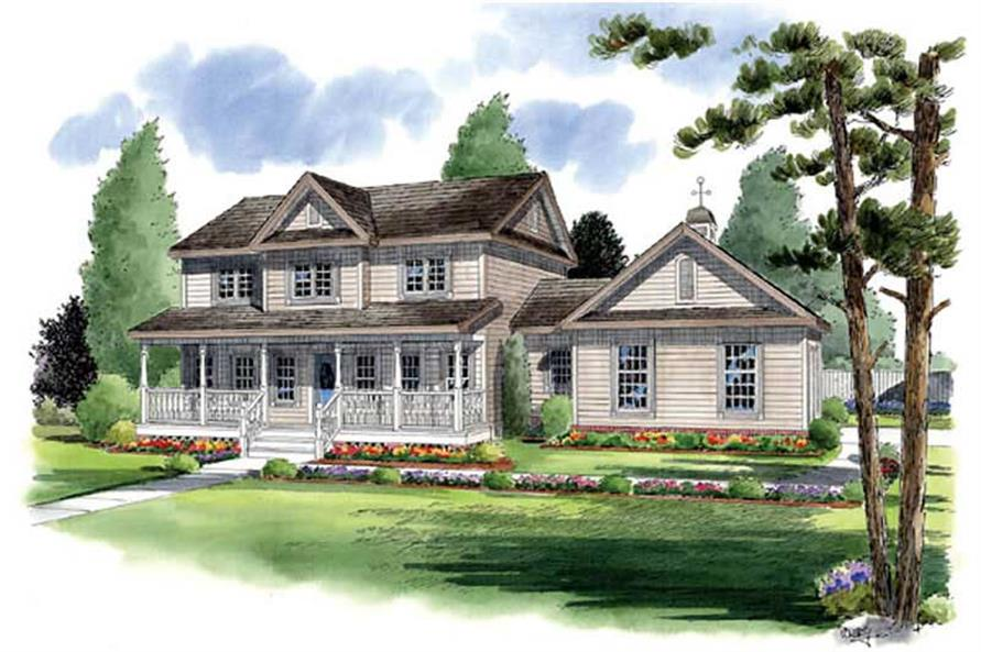 Main image for house plan # 19985