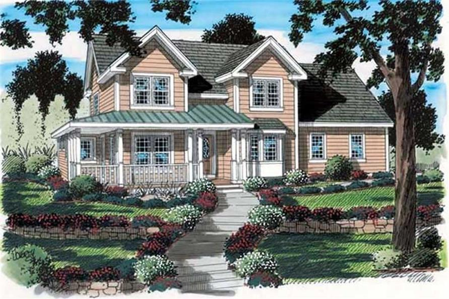 Main image for house plan # 20089