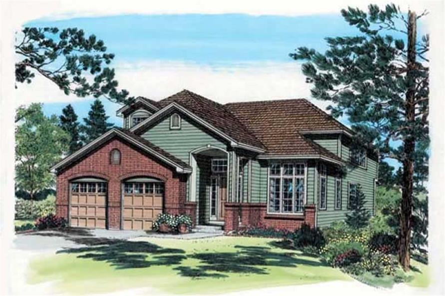 Main image for house plan # 19937