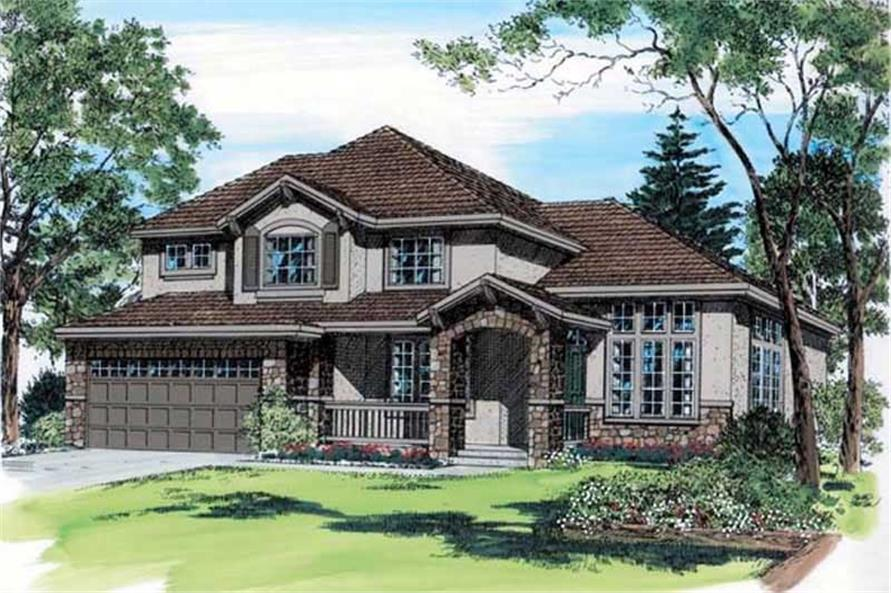Main image for house plan # 19936
