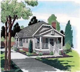 House Plan #131-1136