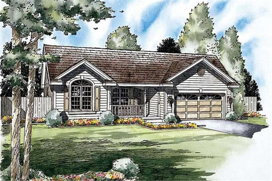 Main image for house plan # 20053