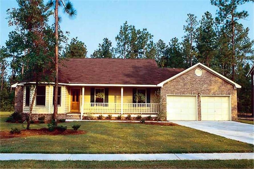 Main image for house plan # 20151