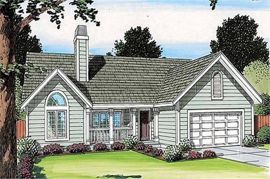 Main image for house plan # 20150