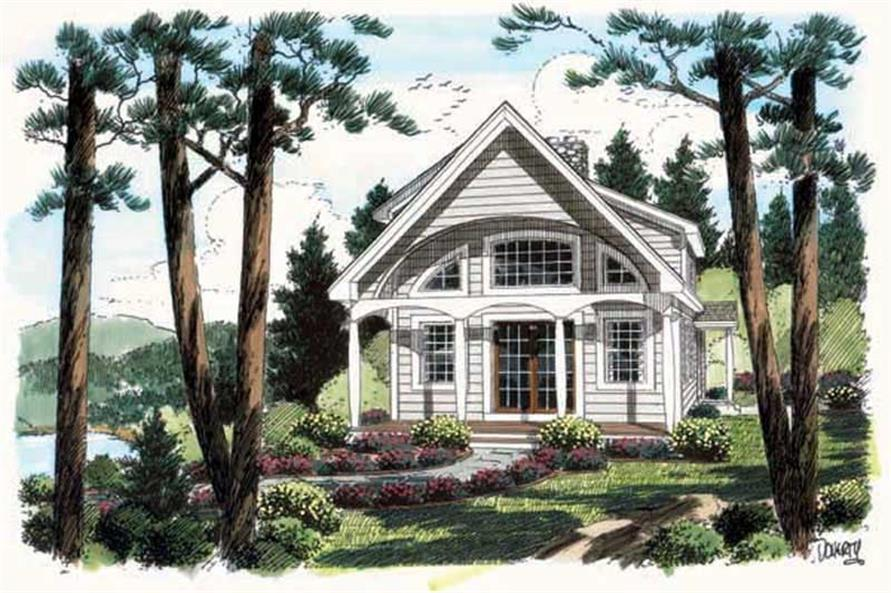 Main image for house plan # 20092