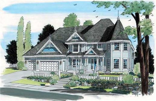 Main image for house plan # 20106