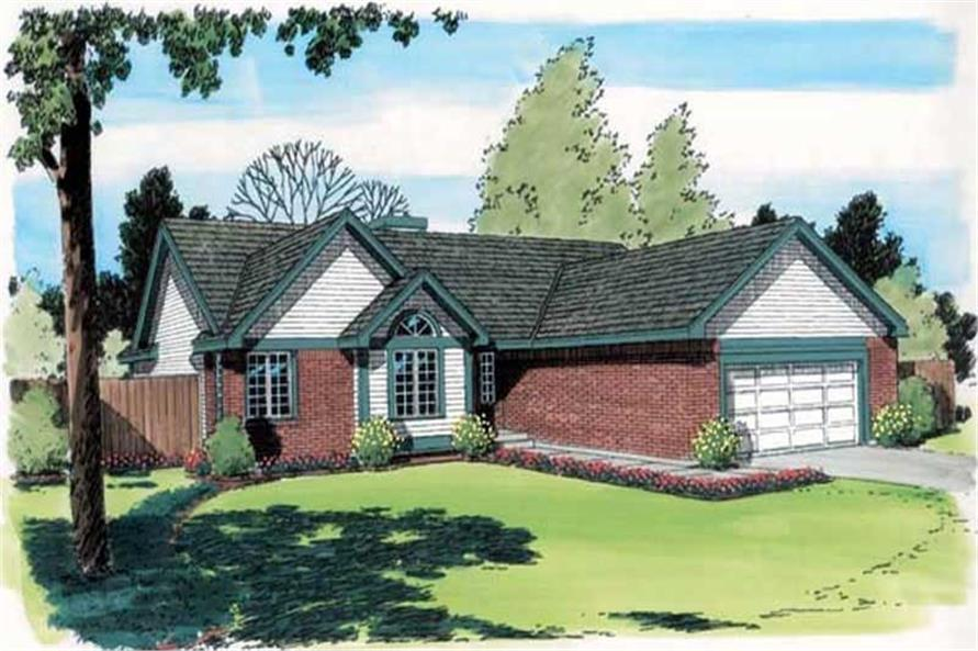 Main image for house plan # 20147