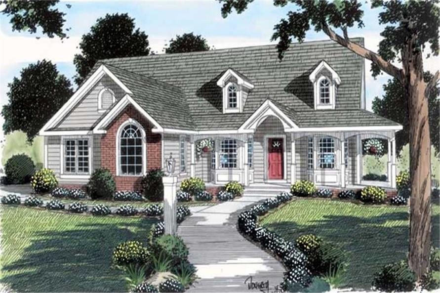 Main image for house plan # 20090