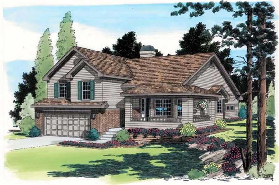Main image for house plan # 19930