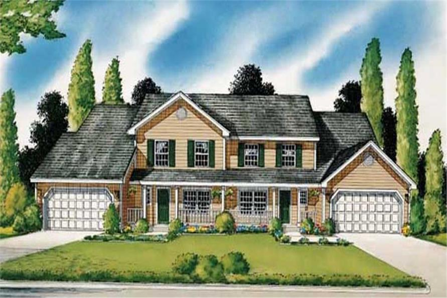 Main image for house plan # 19924