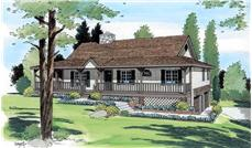 Main image for house plan # 19928