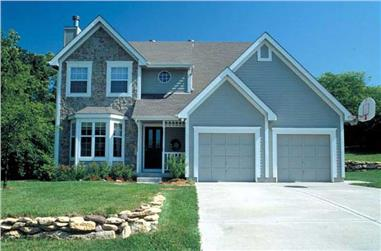 3-Bedroom, 1787 Sq Ft Small House Plans - 131-1183 - Main Exterior