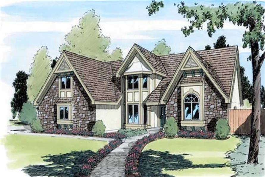 Main image for house plan # 19869