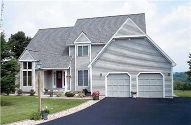 4-Bedroom, 2851 Sq Ft Contemporary House Plan - 131-1188 - Front Exterior