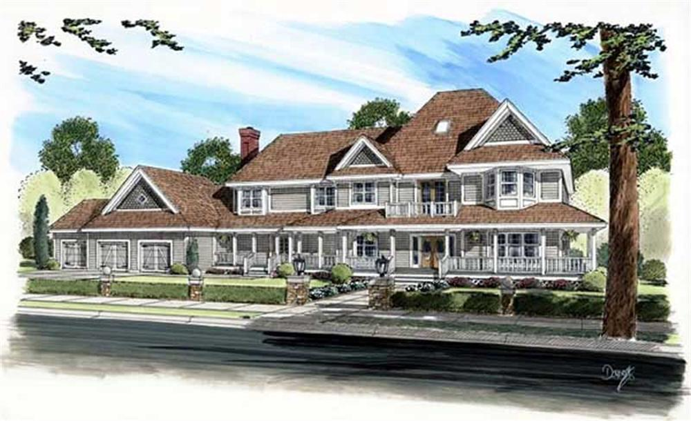 Main image for house plan # 19839