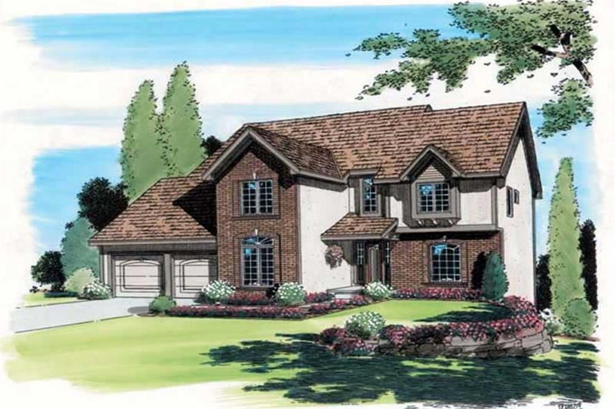Main image for house plan # 19894