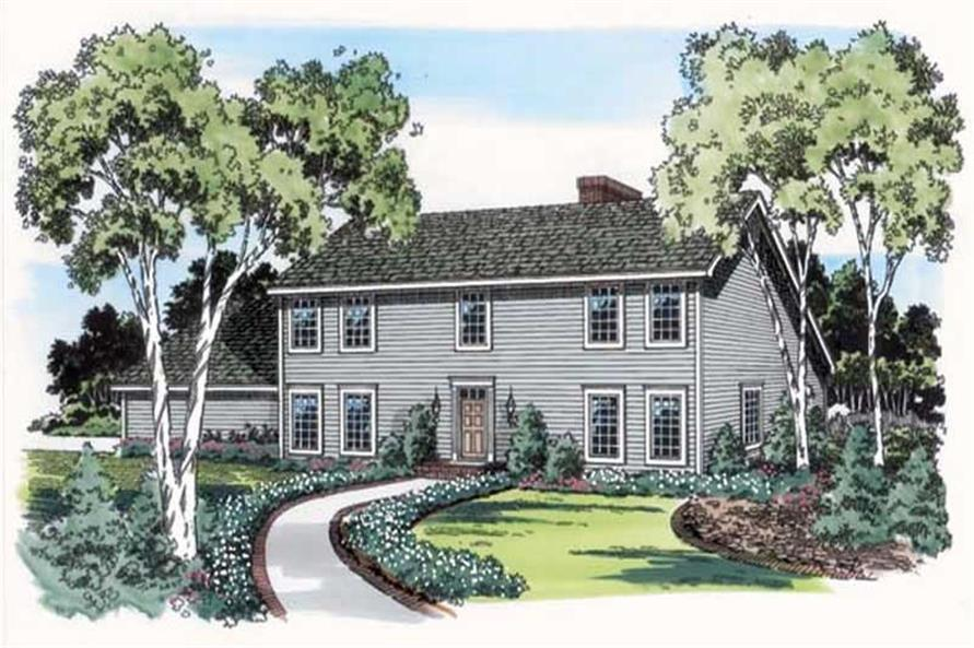 Main image for house plan # 19810