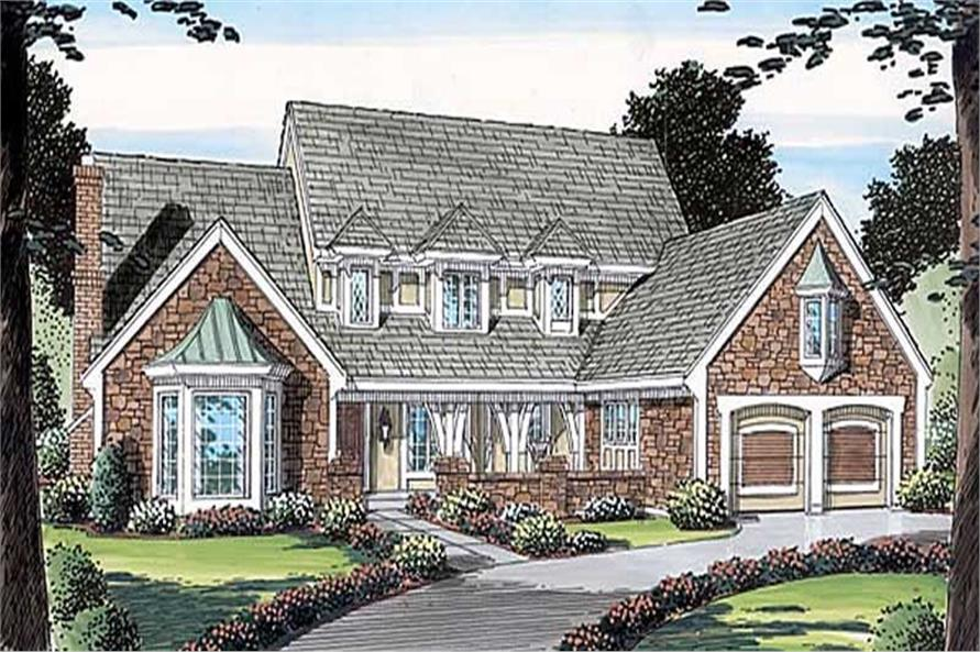 Main image for house plan # 19808